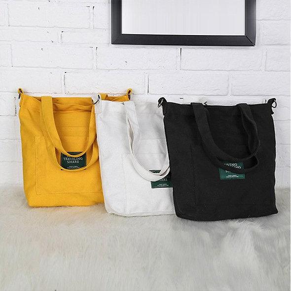 Luxury Women's handbag Fashion Solid Canvas
