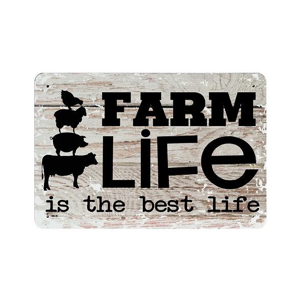 Custom Farm Life Iron Plate