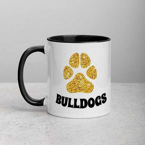 Bulldog Mug Inside Color