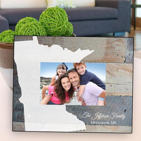 Souvenir Home State Frame