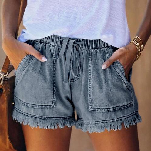 Bohemia Tassel Shorts