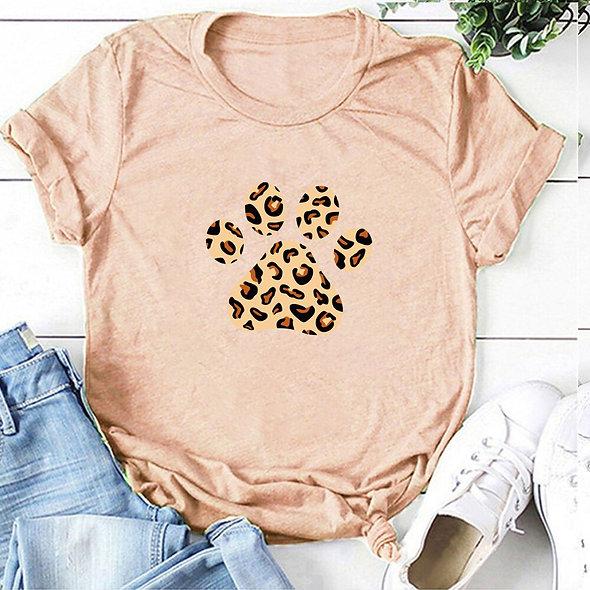 Leopard Bear Paw Tee