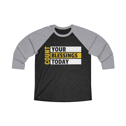 Count Your Blessings Raglan Tee