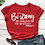Thumbnail: Be Strong & Courageous Tee