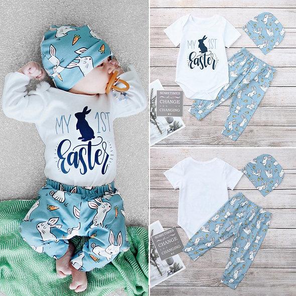Newborn Baby Girl Boy Cartoon First Easter
