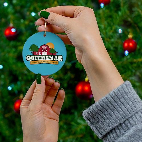 Quitman Ceramic Ornaments