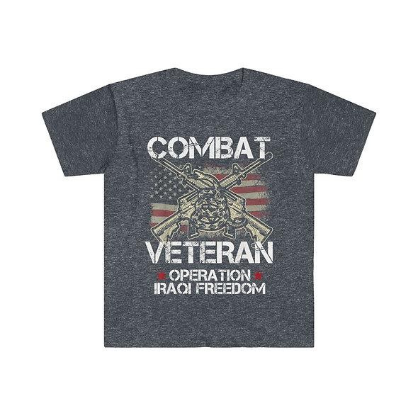 Combat Vet Softstyle Tee