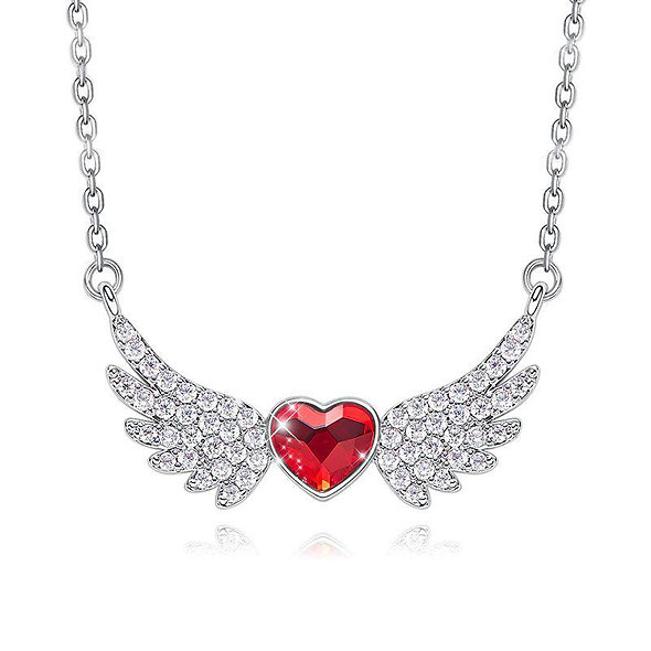 Swarovski Crystals 4.00 Ct Ruby Flying with the