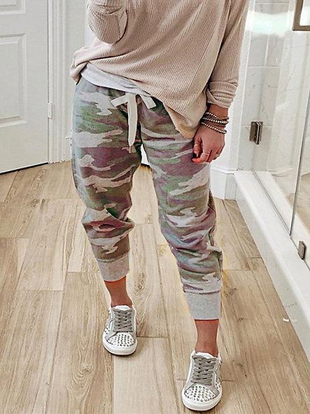 Camouflage Loose Sweatpants