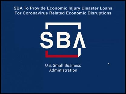 Business Owners : SBA Loan Information