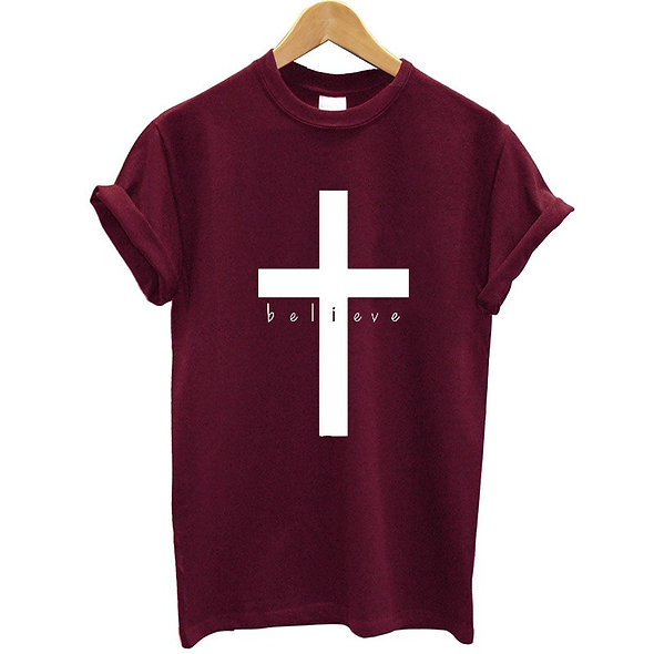 Believe Cross Tee