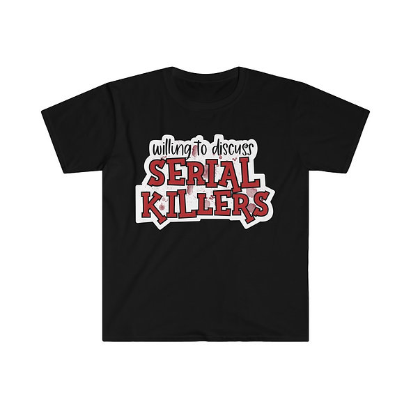 Serial Killers Softstyle Tee