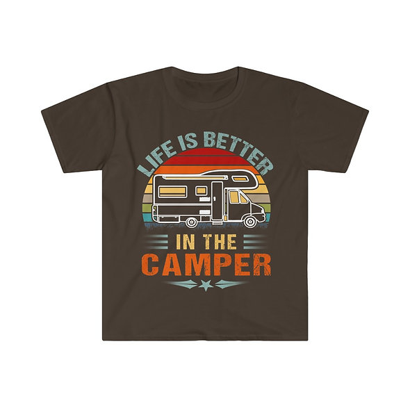 Life is Better Softstyle Tee