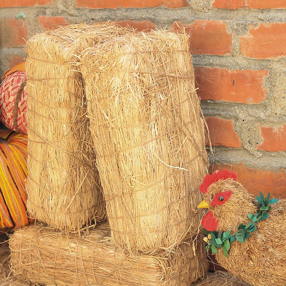 "L11"" Vintage Straw Bale Brick"