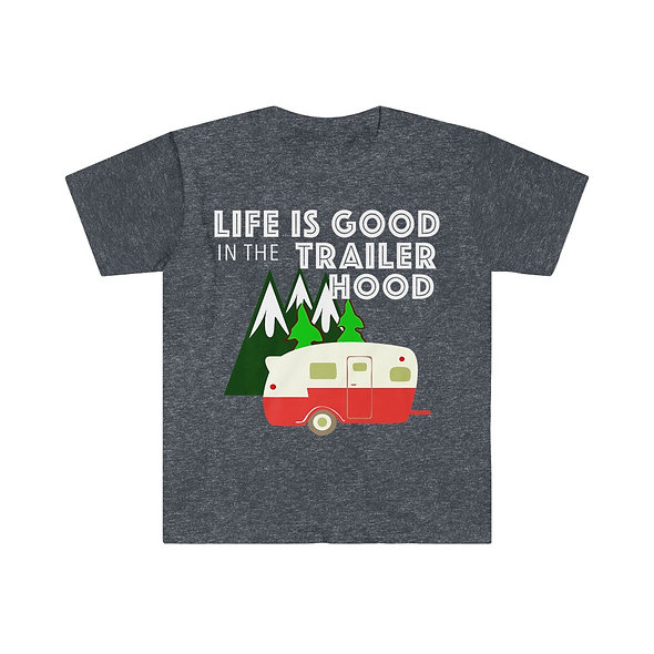 Camp Life is Good Softstyle Tee