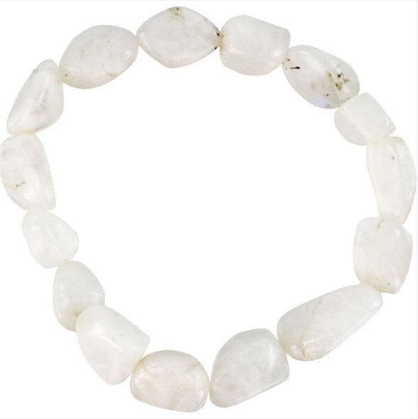 Genuine Tumbled Crystal Quartz Bracelet