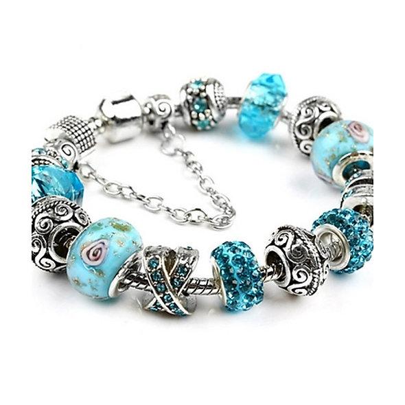 Bead Charm Bracelet