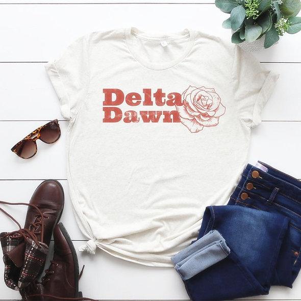 Delta Dawn Tee