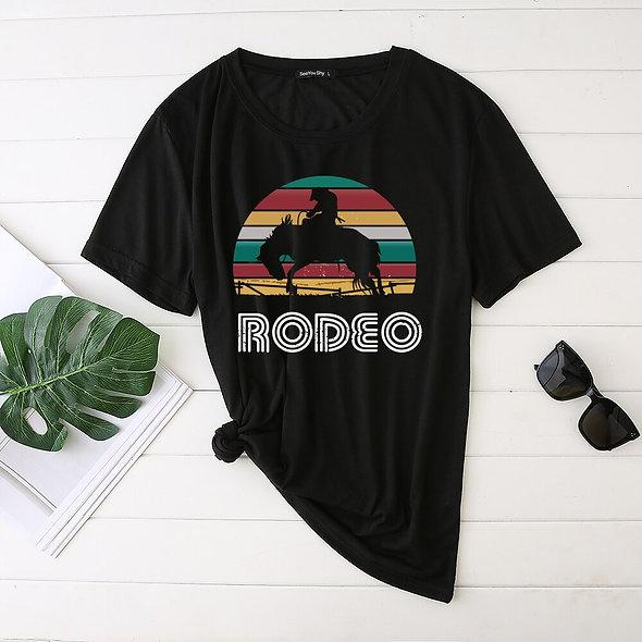 Rodeo Rainbow Tee