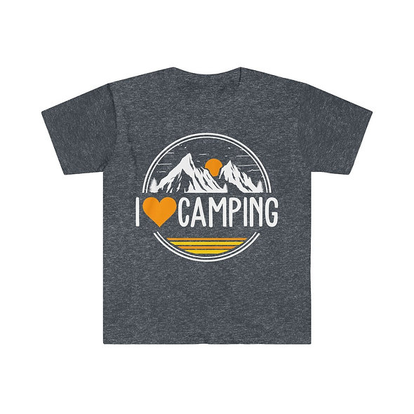 I Love Camping Softstyle Tee