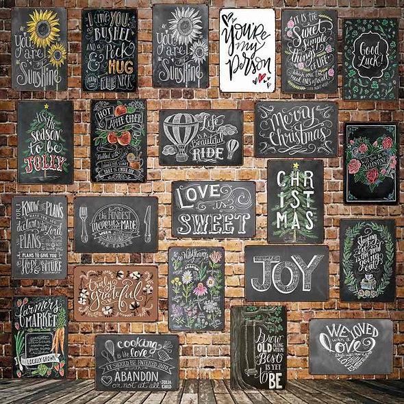 Various Wall Signs