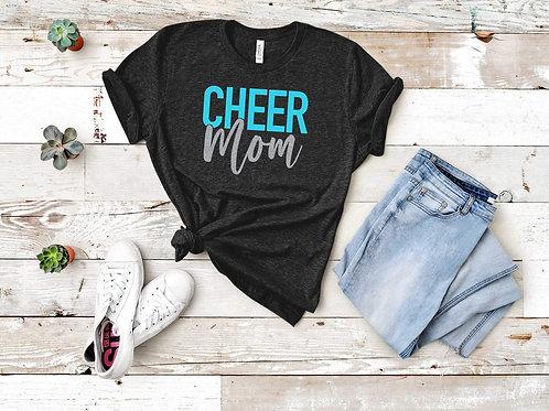 Graphic T-shirt- CHEER MOM