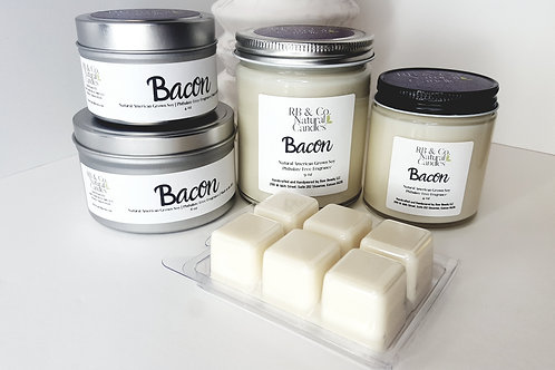 Bacon Scented Soy Candle