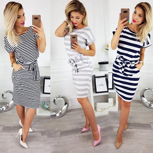 Casual Short Sleeve Dress