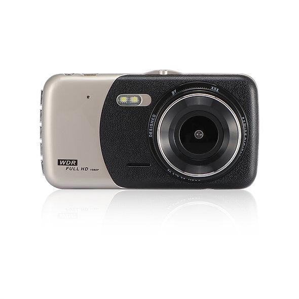 """4"""" Dual Lens 1080P FHD 1.0MP Dash Camera Car DVR"""