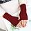 Thumbnail: Knitted Fingerless Gloves