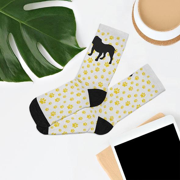 Bulldog Socks