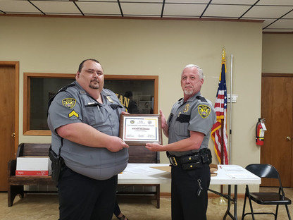 Quitman Officers Receive Recognition