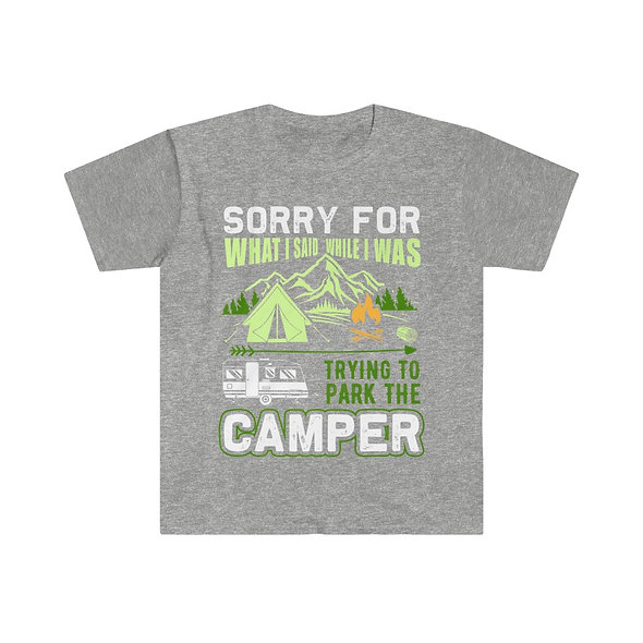 Parking Camper Softstyle Tee