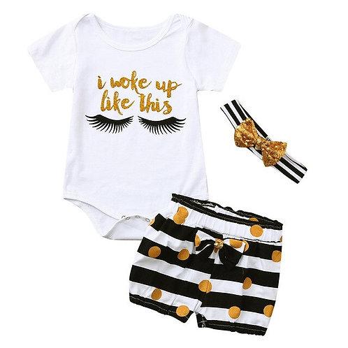 Summer Newborn Infant Baby Girl Boy Clothes