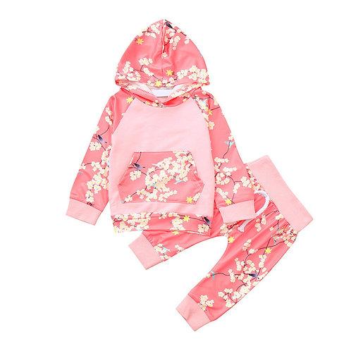 2Pcs Toddler Children Clothing Set Infant Baby
