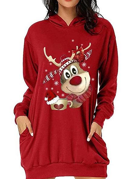 Christmas Rudolph Hoodie