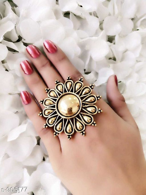 Golden Oxidized Ring
