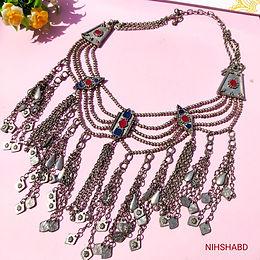 Sahnaaz Meenakari Necklace