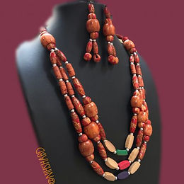 Artisan Wooden Necklace