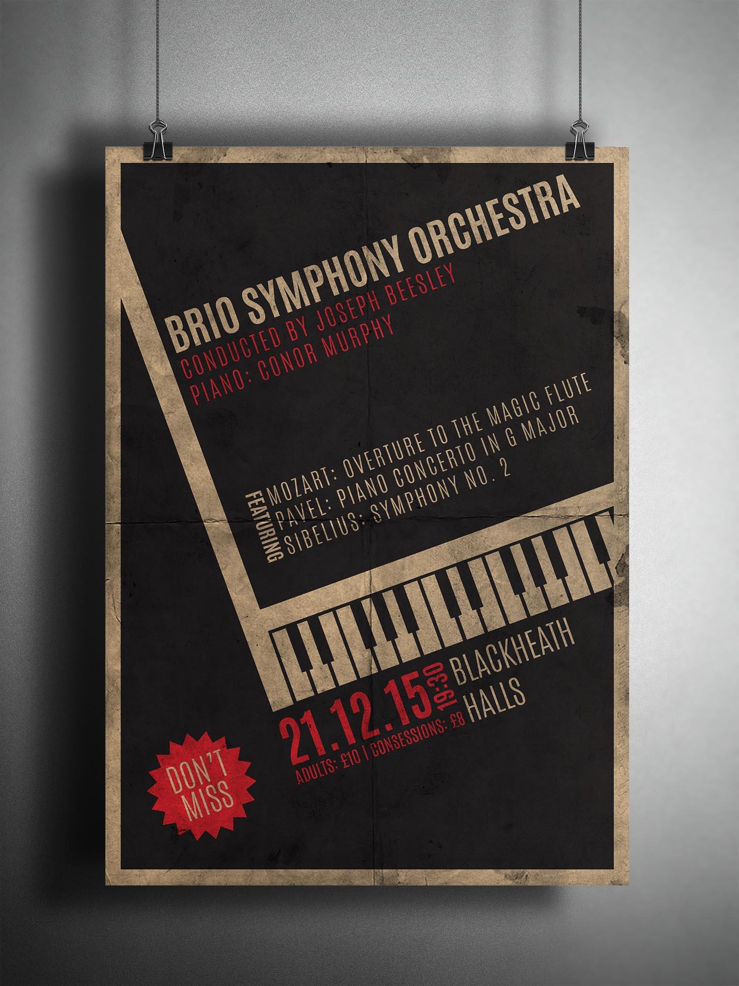 Brio Poster
