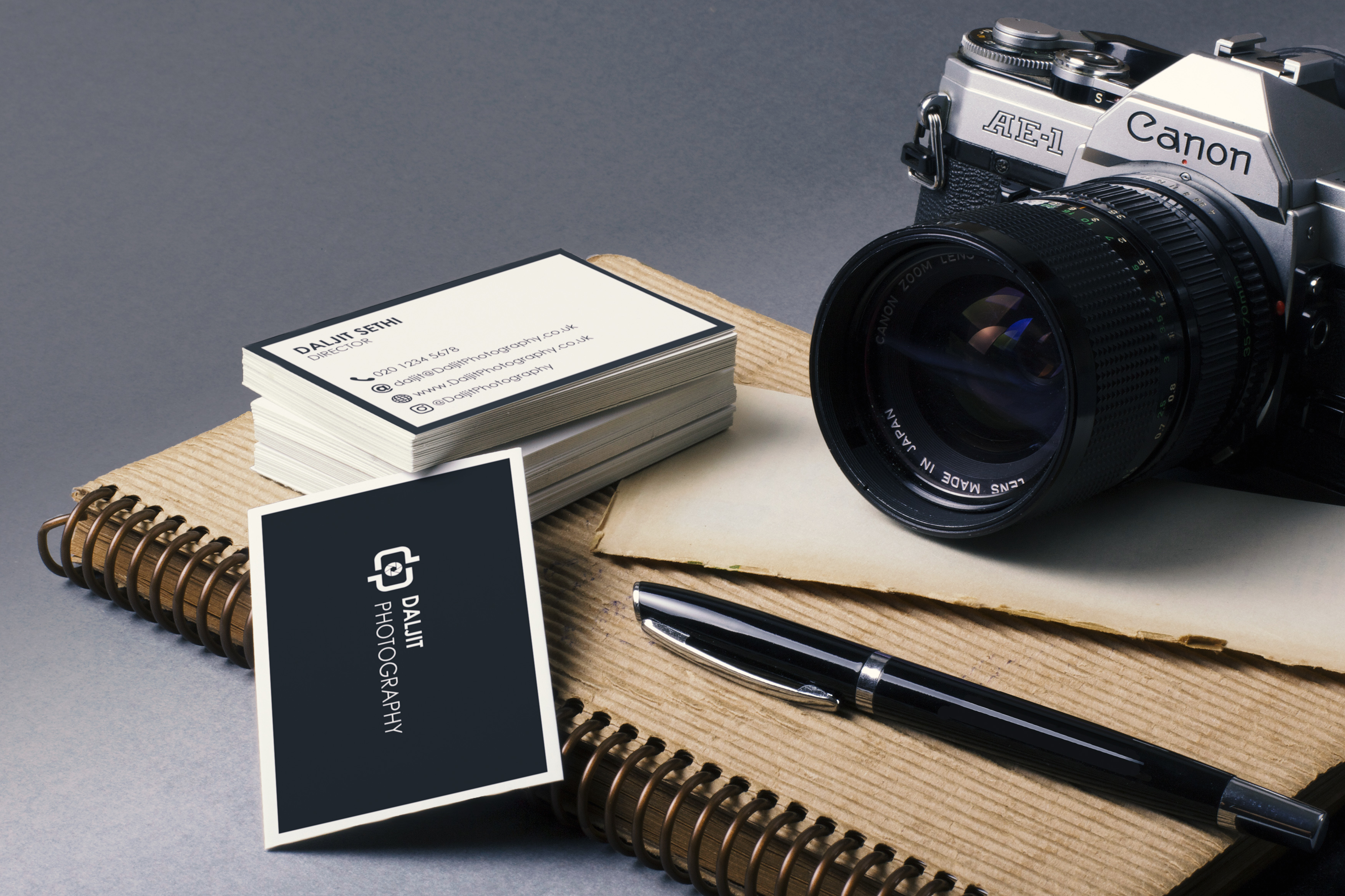 Photography Logo & Business Card