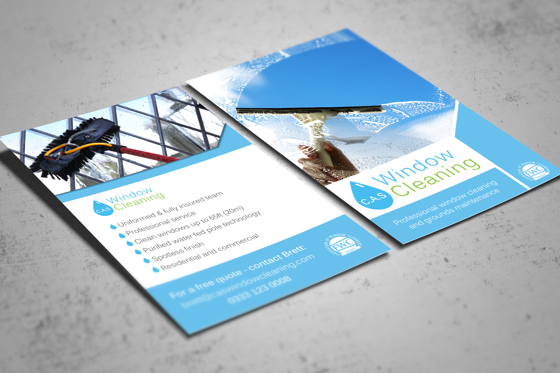 CAS Window Cleaning Flyer