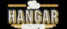 The Hanger Logo - Transparent - White Te