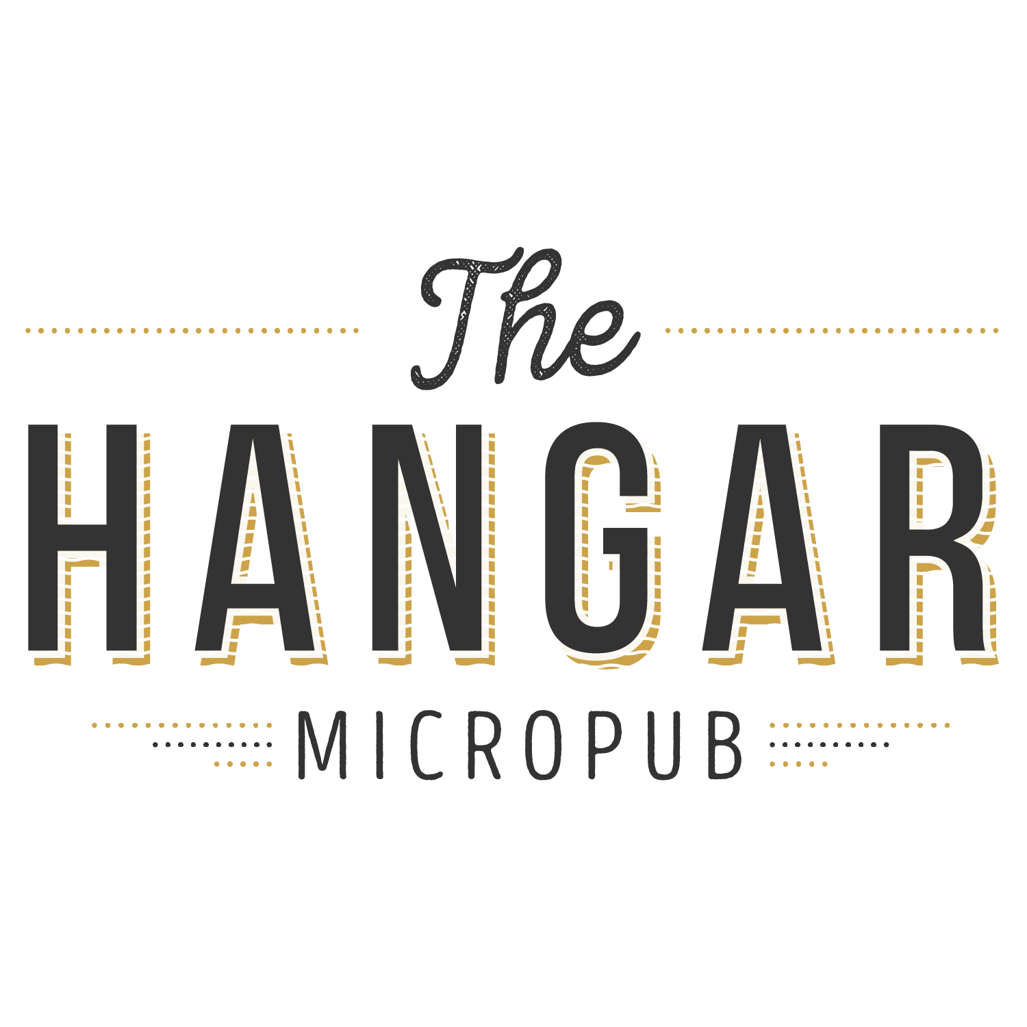 The Hanger Logo - Transparent - Square