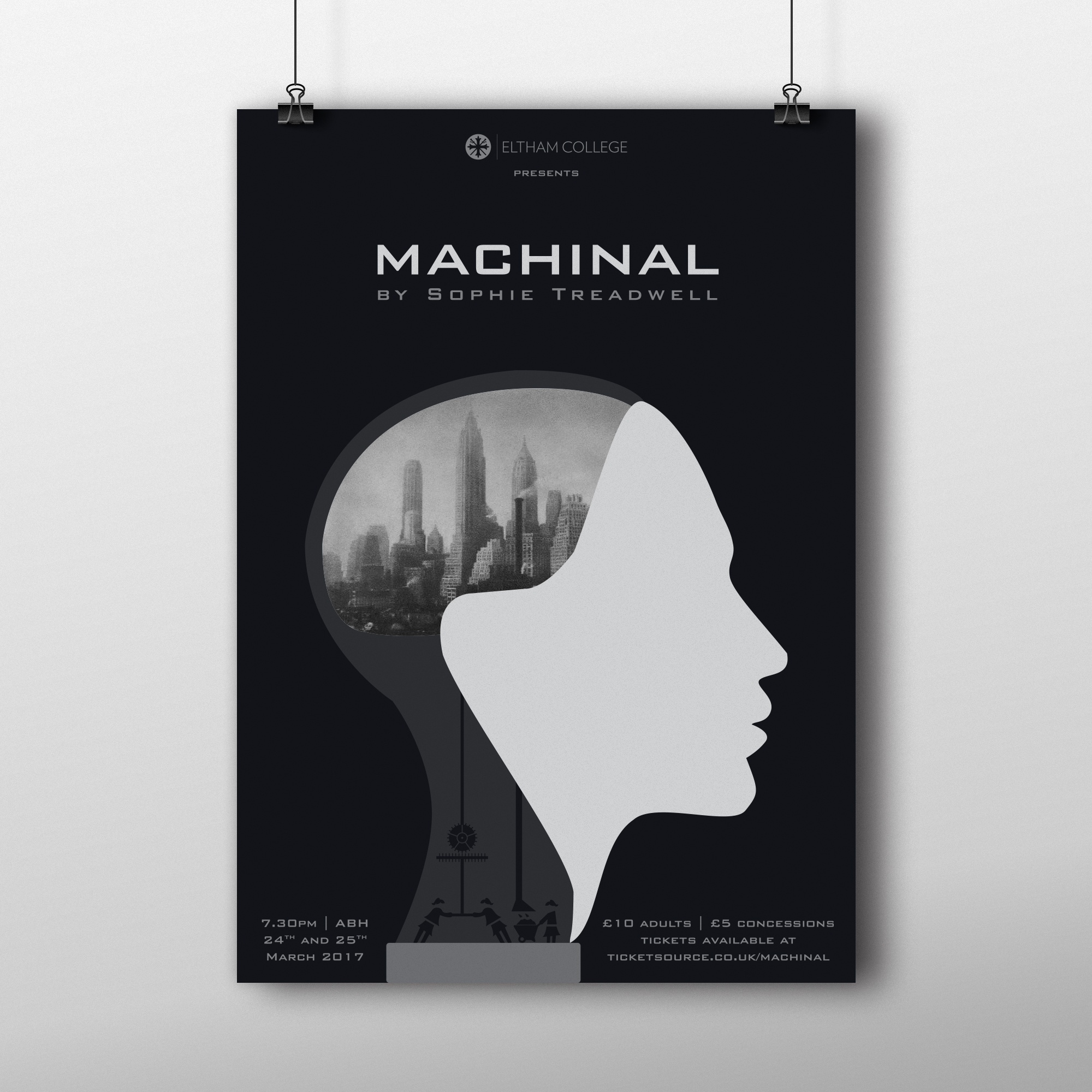 Machinal Poster Design