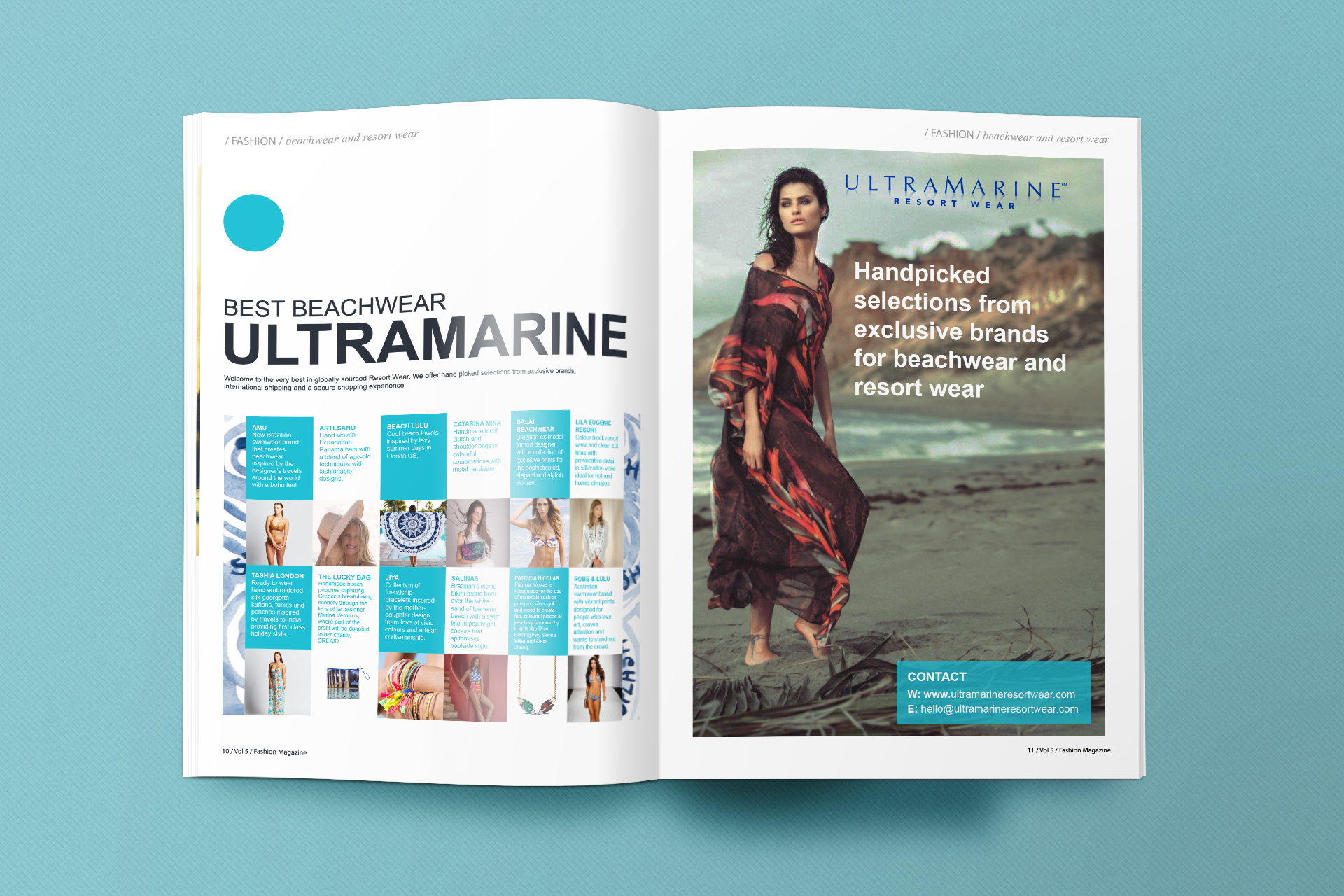 Fashion Magazine Advert
