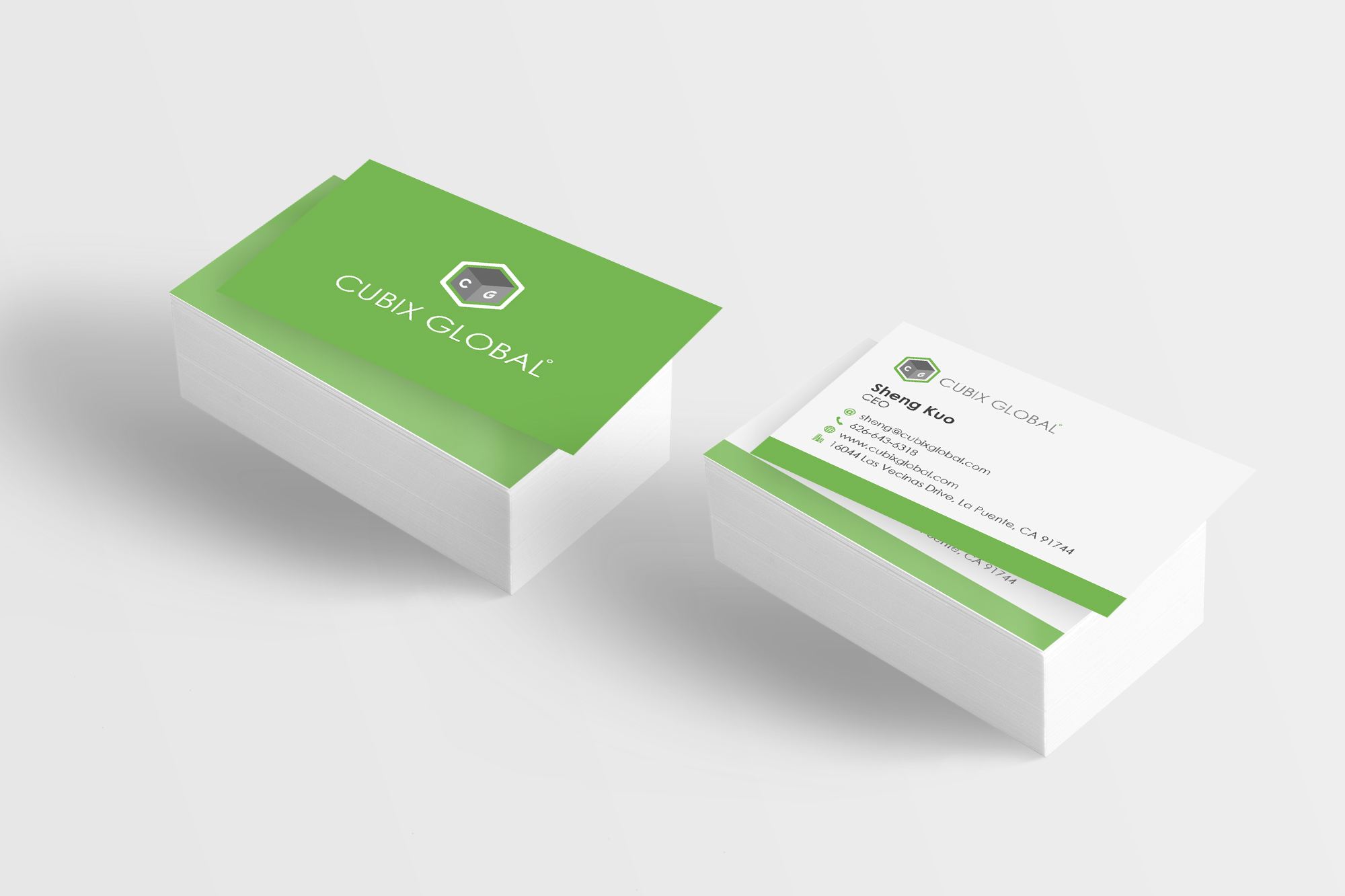 CUBIX Global Business Card