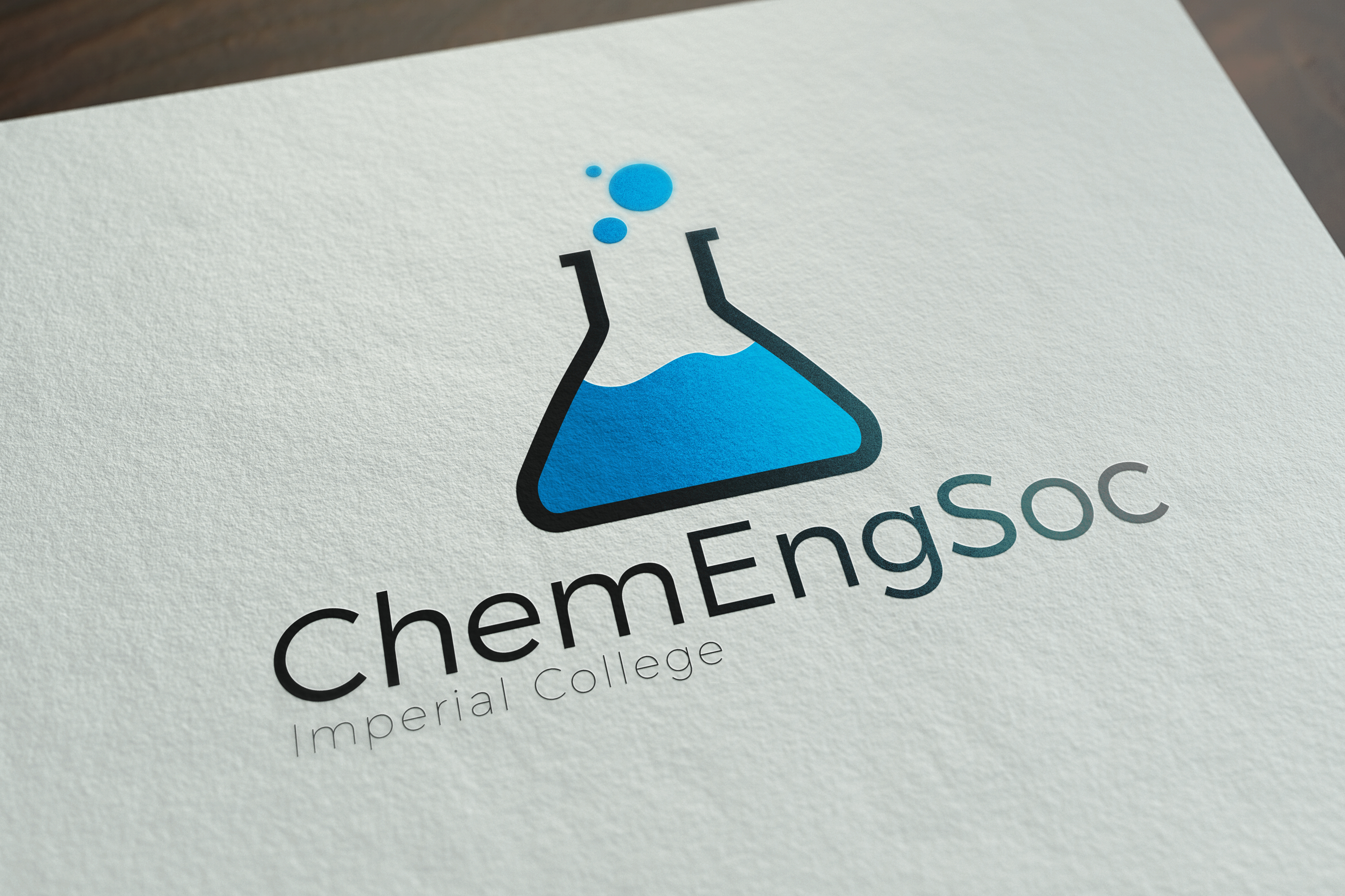 Chemical Engineering Society Logo Design