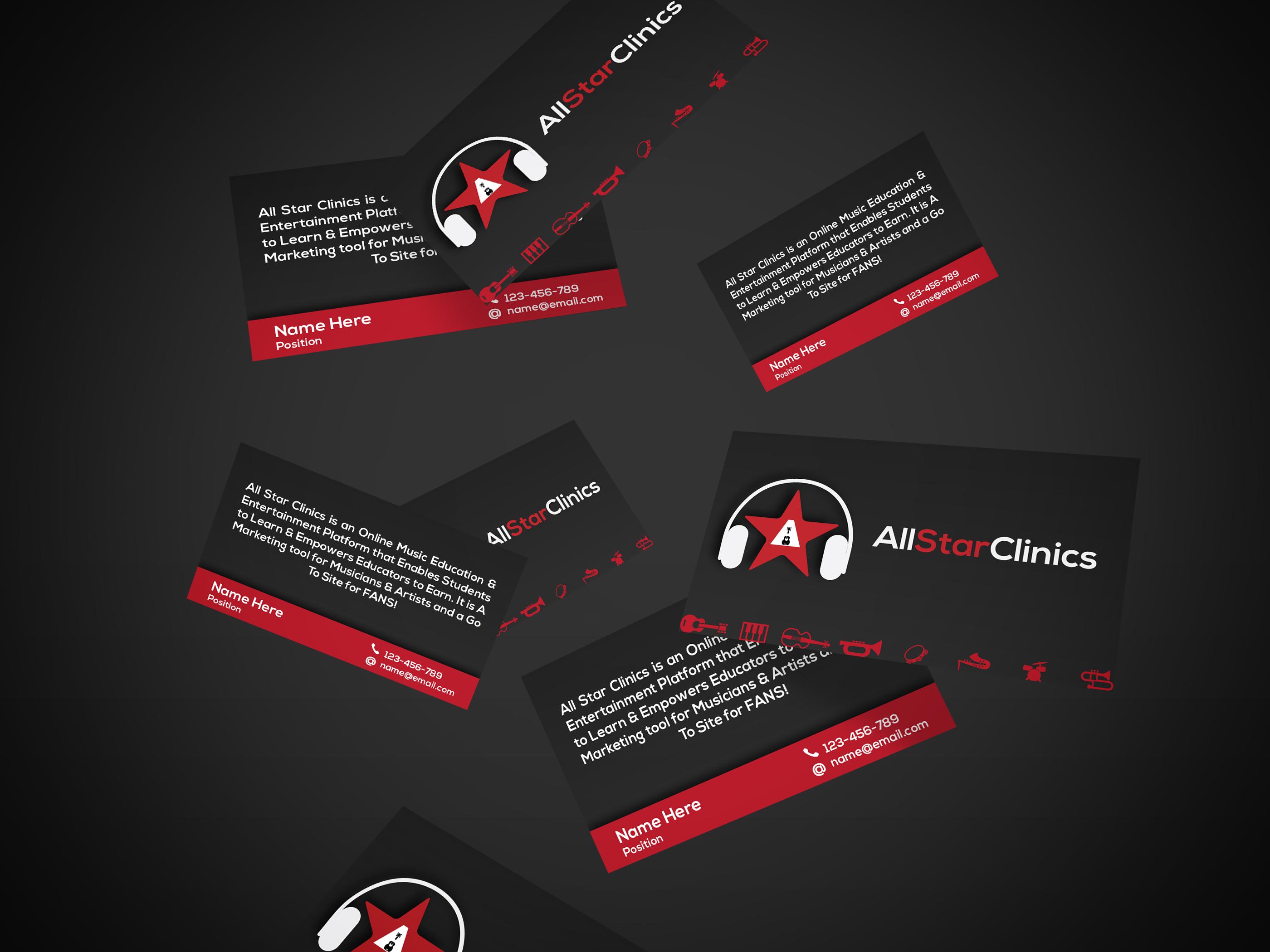 AllStarClinics Business Card