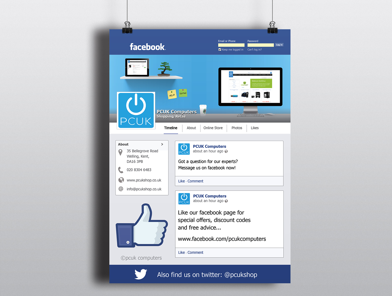 PCUK Facebook Flyer